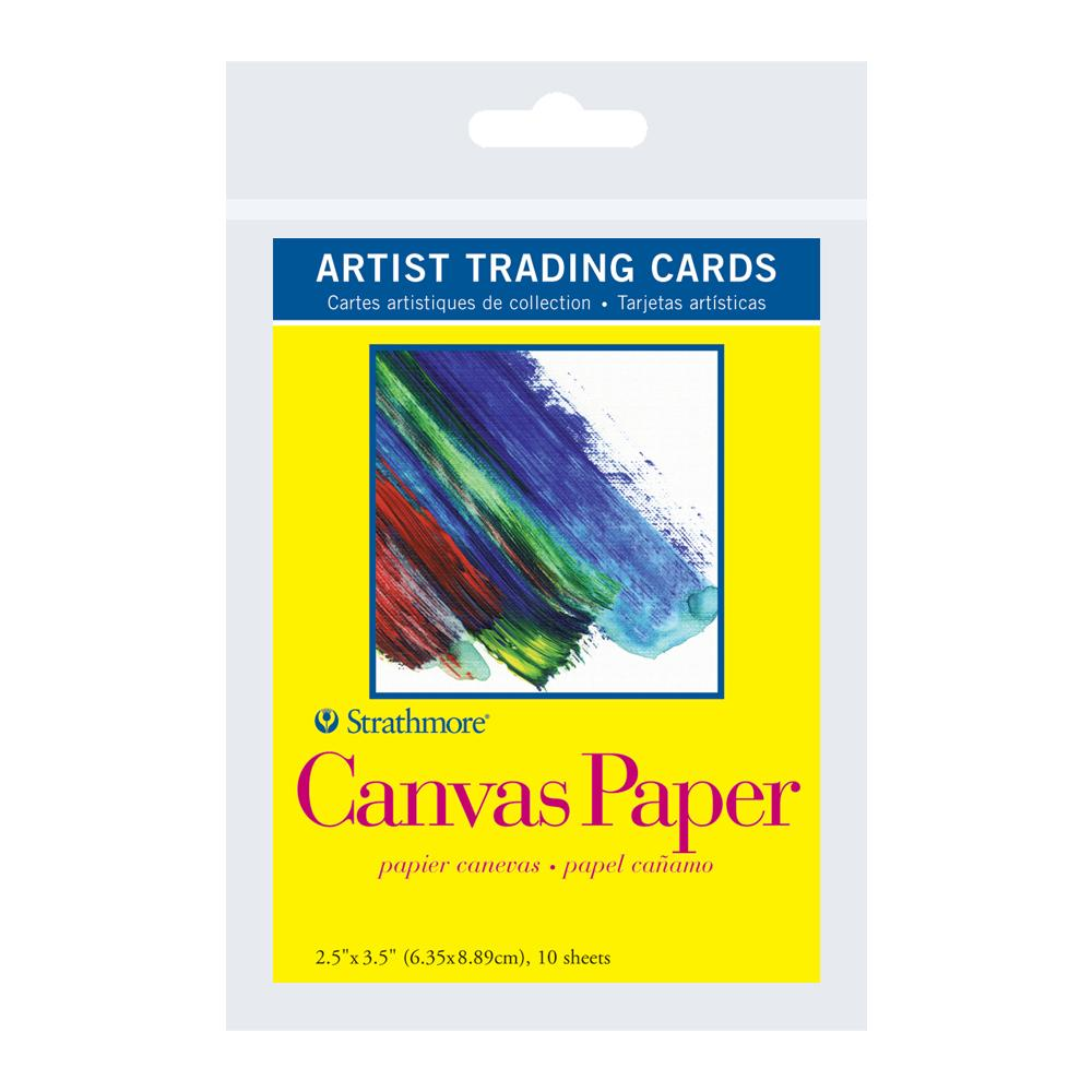 "Strathmore Artist Trading Cards Canvas 2.5""x3.5"""