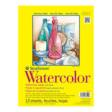 "Strathmore Watercolor Pad 300 Series 11""x15"""