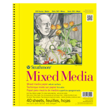 Strathmore 300 Series Spiral Bound Mix Media Pad