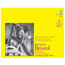 "Strathmore Vellum Bristol Pad 300 Series 19""x24"""
