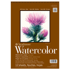 Strathmore 400 140lb Cold Press Spiral Watercolor Pad