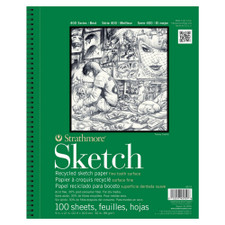 Strathmore 400 Series Recycled Sketch Pad 100 Sheet
