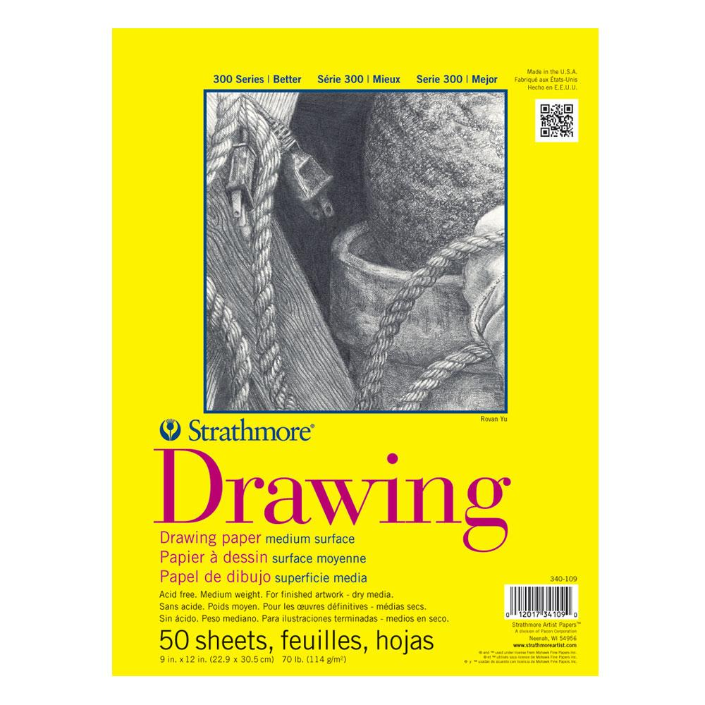 Strathmore Drawing Pad 300 Series