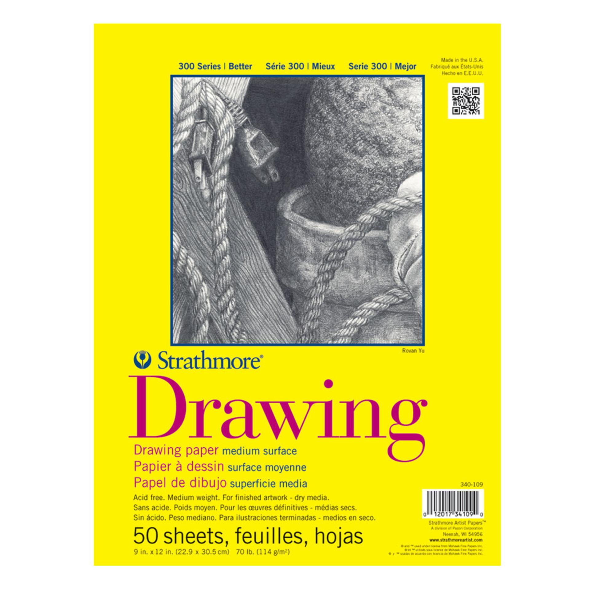 Strathmore Drawing Pad 300 Series