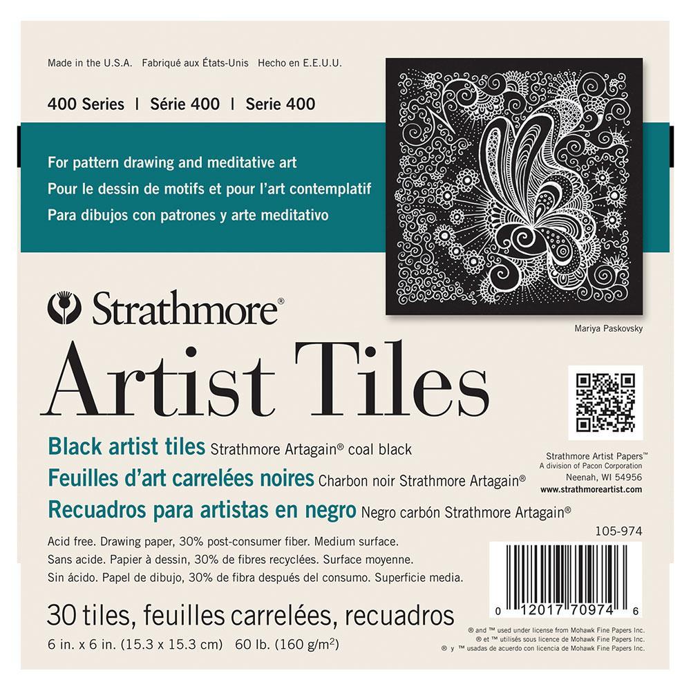 """Strathmore Artagain Artist Tiles 6""""x6"""" 30 Pack"""