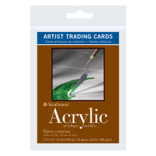 Strathmore Artist Trading Cards 400 Series Acrylic 10 Pack