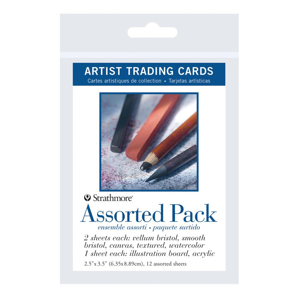 Strathmore Artist Trading Cards Assorted 12 Pack
