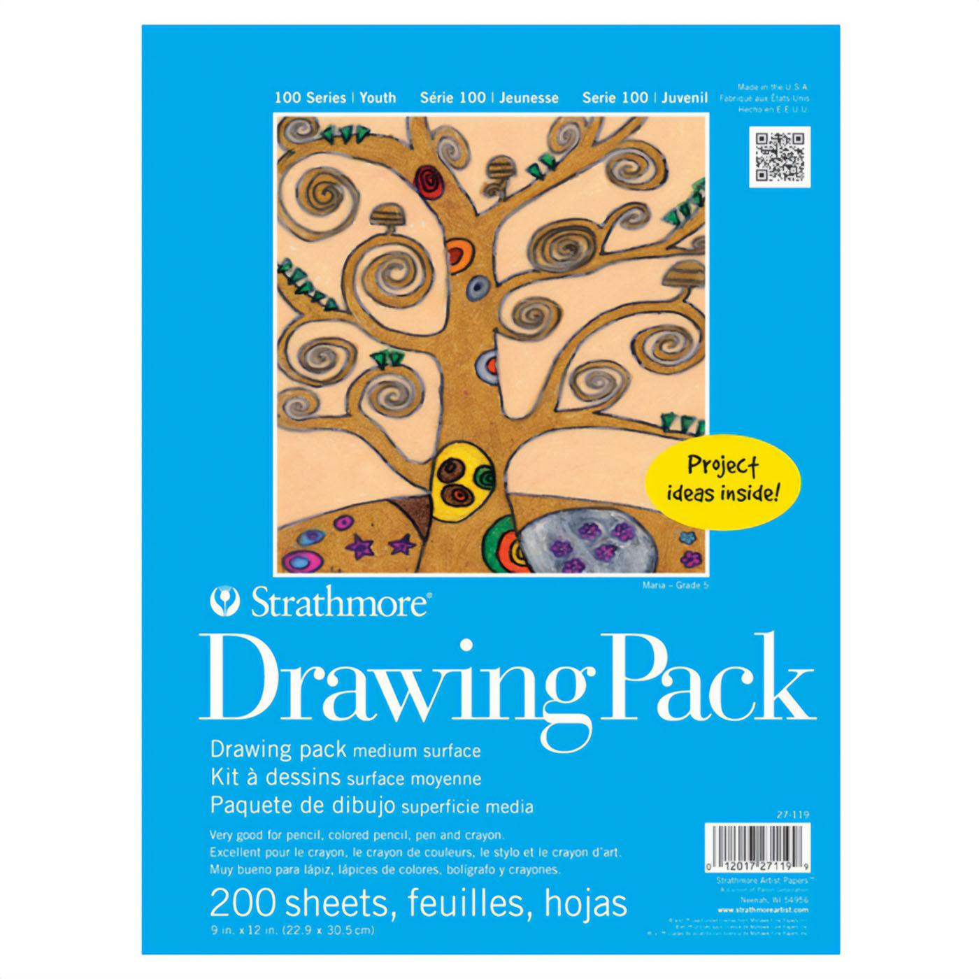 "Strathmore Kids 9""x12"" Drawing Paper 200 Pack"