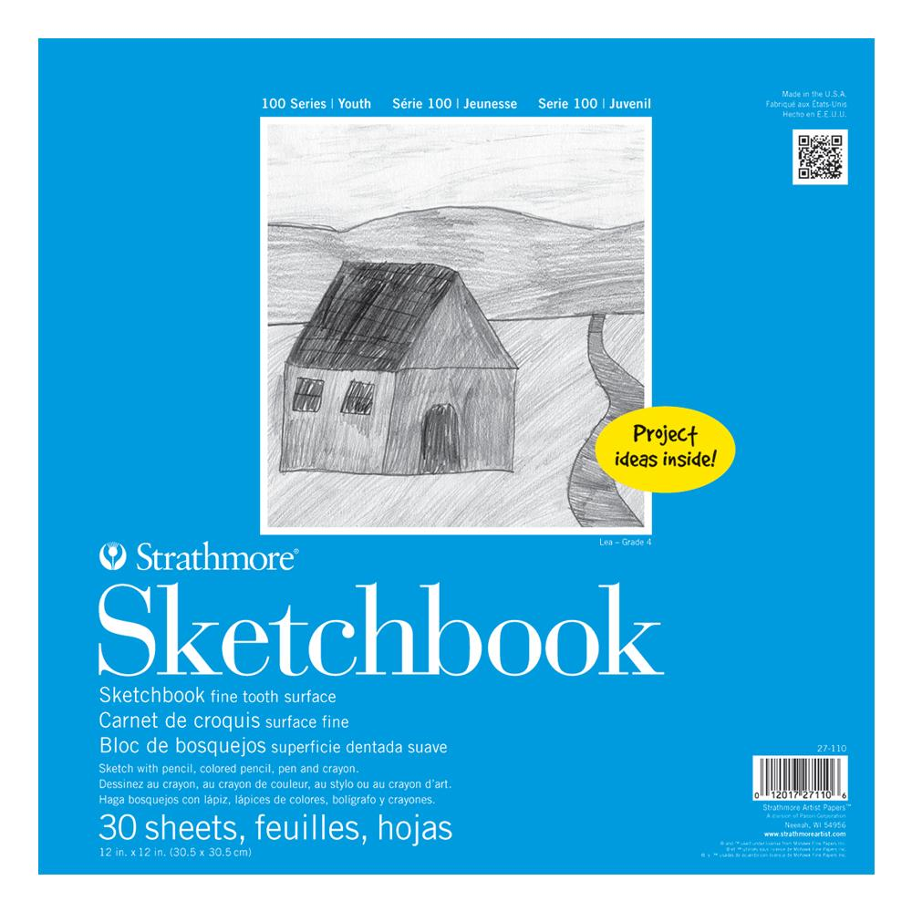 "Strathmore Kids Sketch Book 12""x12"""