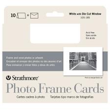 Strathmore Photo Frame Cards 10 Pack White