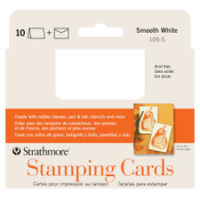 Strathmore Stamping Cards 10 Pack 3x5