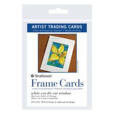 Strathmore White ATC Frame Cards With Envelopes 6 Pack