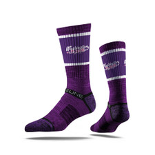 Strideline Unisex Purple Washington Cherry Blossoms Crew Socks