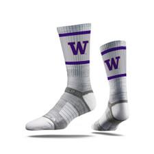 Strideline Unisex W Premium Crew Socks – Gray