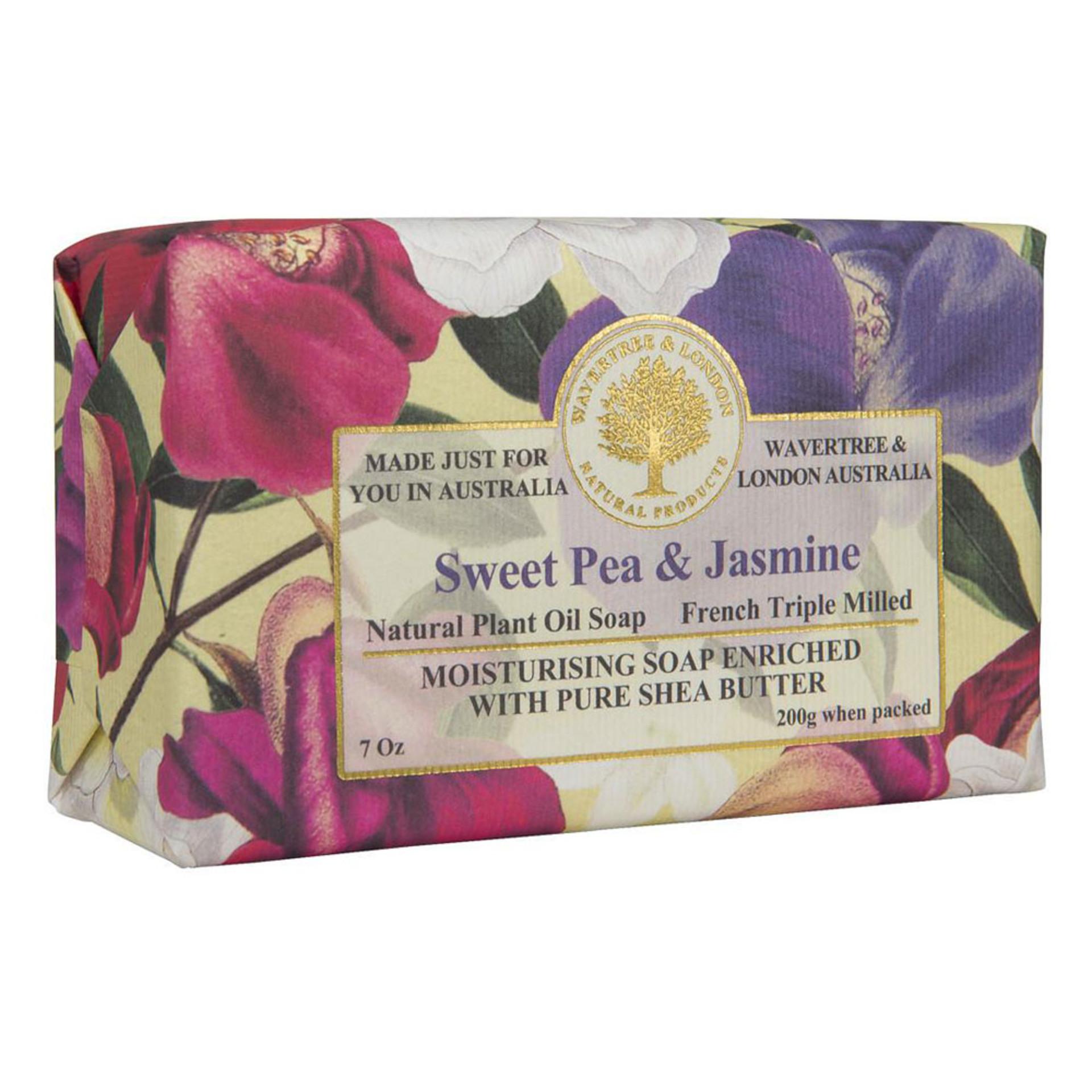 Sweet Pea Jasmine Bar Soap