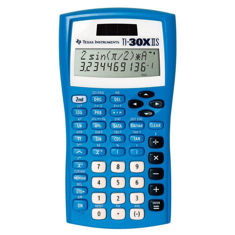 TI-30XIIS Scientific Calculator Blue