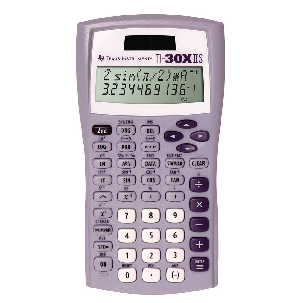 TI-30XIIS Scientific Calculator Lavender