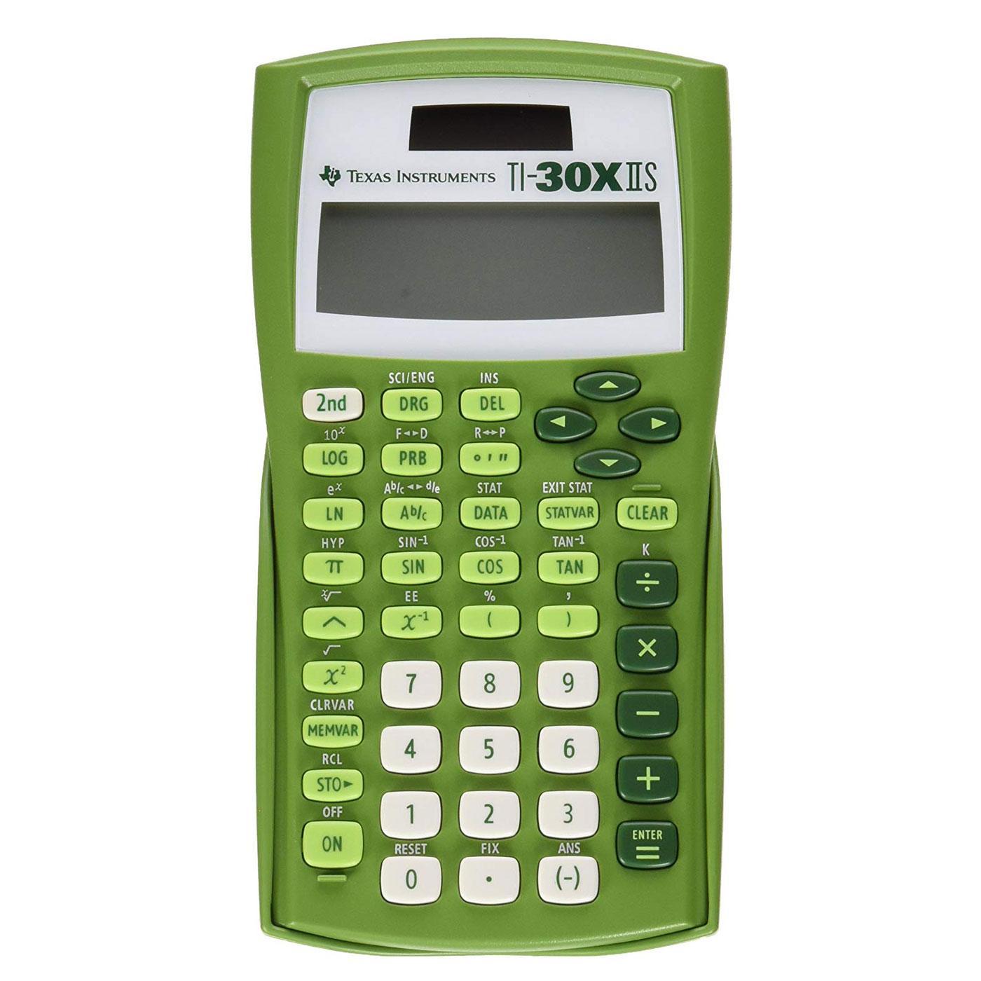 TI-30XIIS Scientific Calculator – LIme