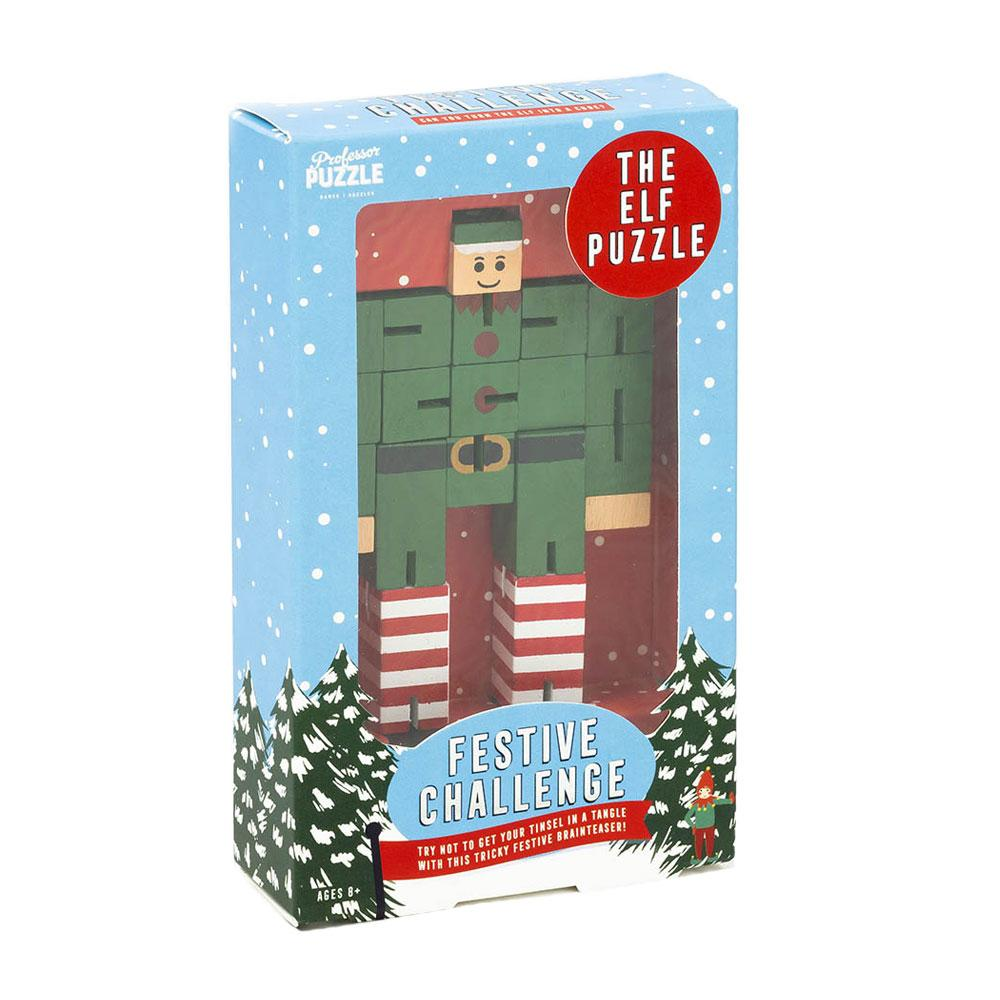 The Elf Puzzle by Professor Puzzle