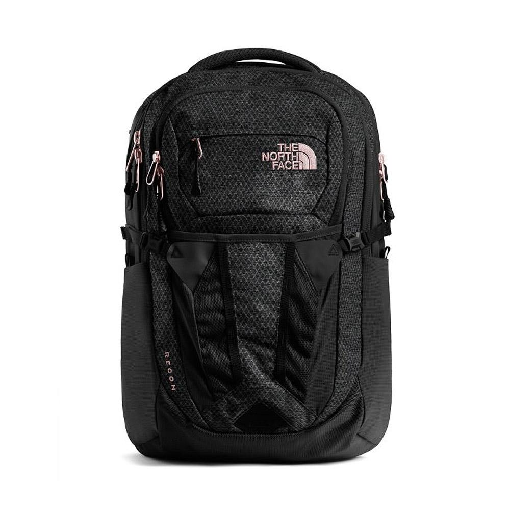 ebec1b6ea The North Face Women Recon Backpack Black/Burnt Coral