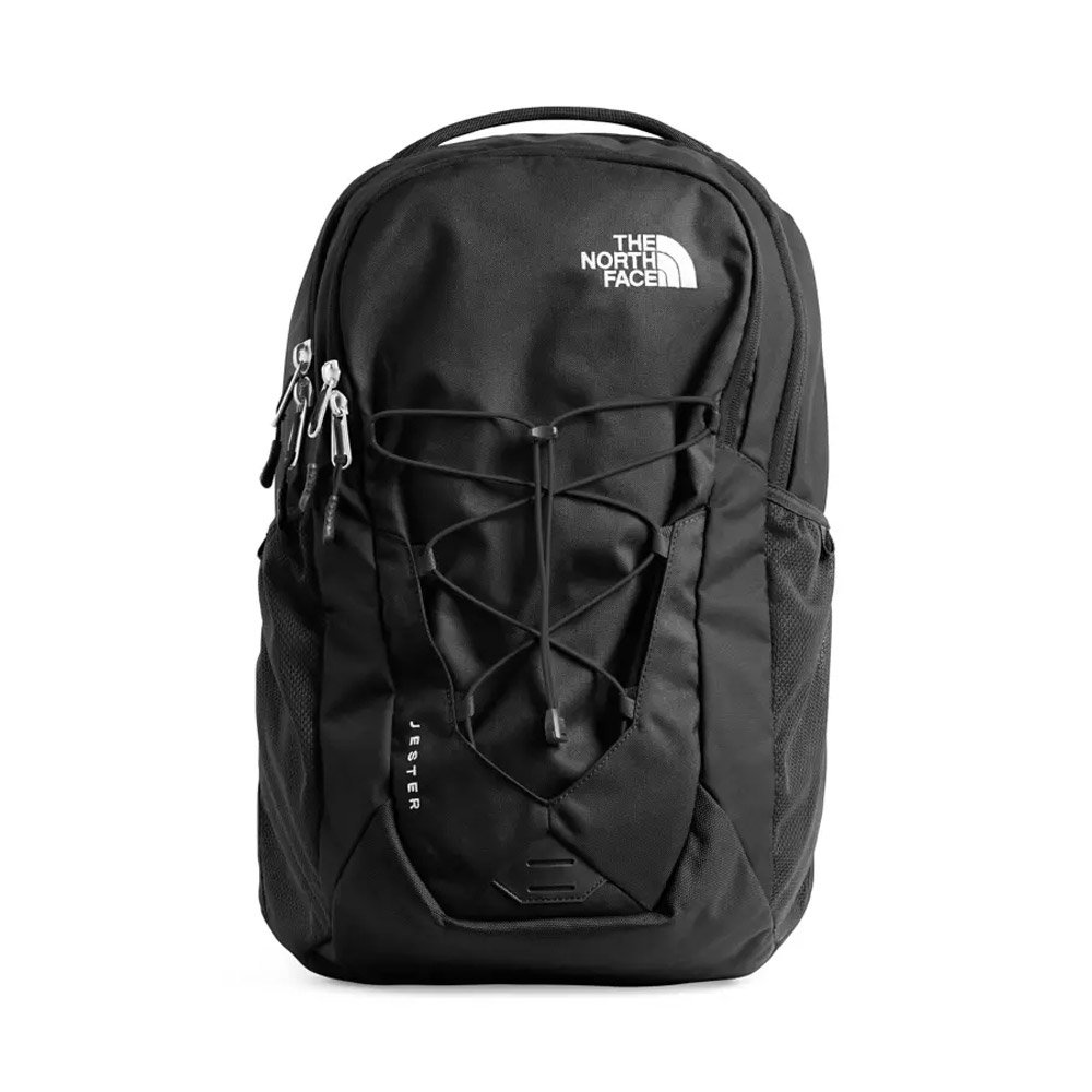 The North Face Jester Backpack Black Front