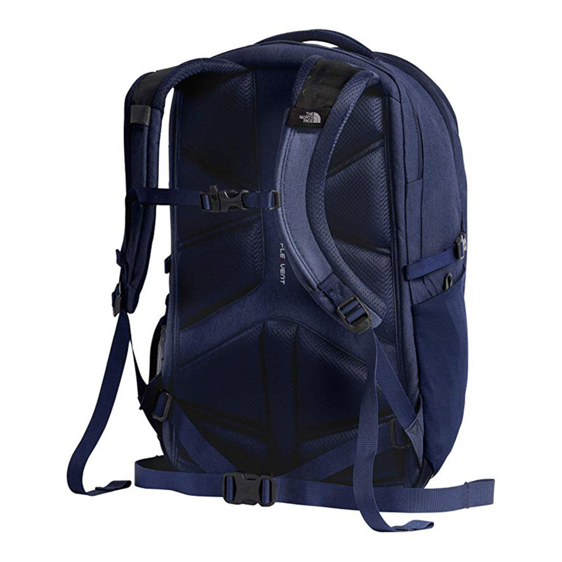 The North Face Borealis Backpack Montague Blue Light Heather Back