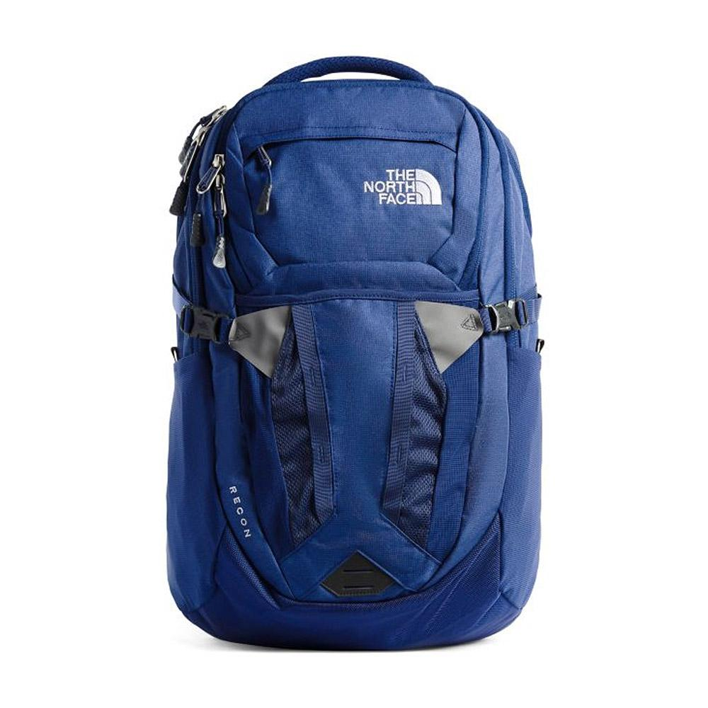 The North Face Recon Backpack Flag Blue Heather Front