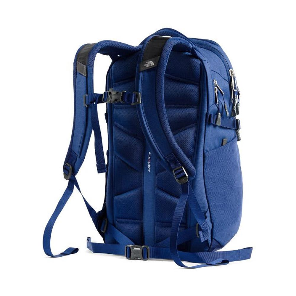 The North Face Recon Backpack Flag Blue Heather Back