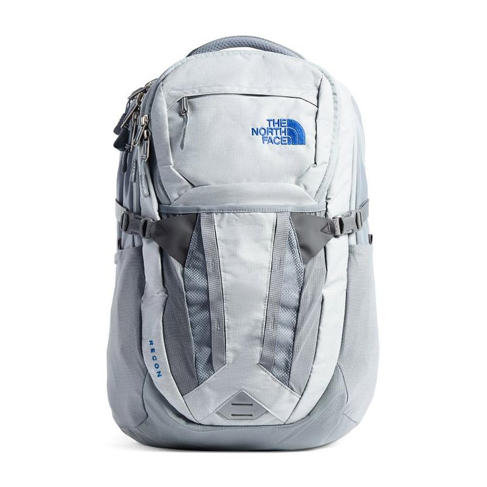 The North Face Recon Backpack Hi-Rise Grey/MidGrey Front