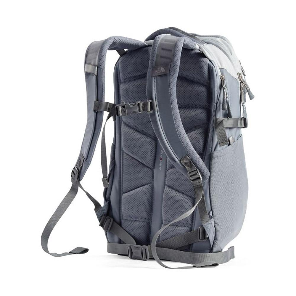 The North Face Recon Backpack Hi-Rise Grey/MidGrey Back