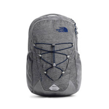 The North Face Jester Backpack Zinc Grey Light Heather Front