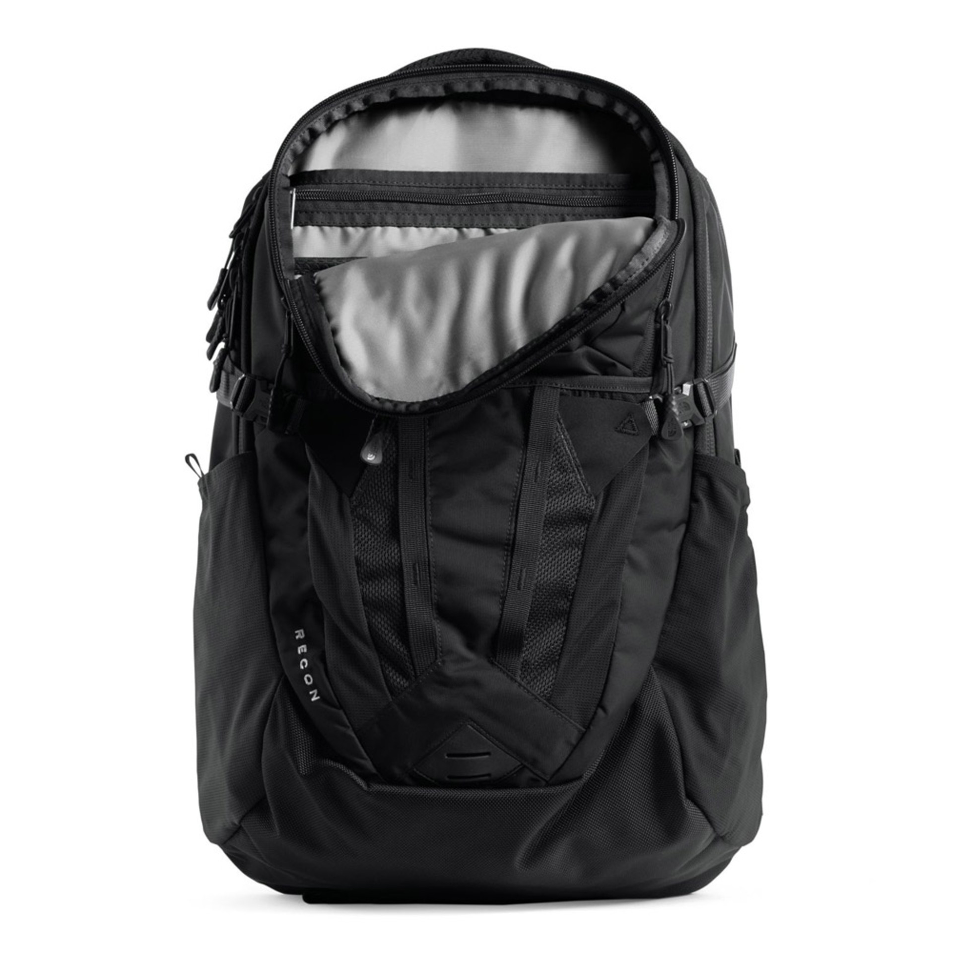 The North Face Recon Backpack Black Open