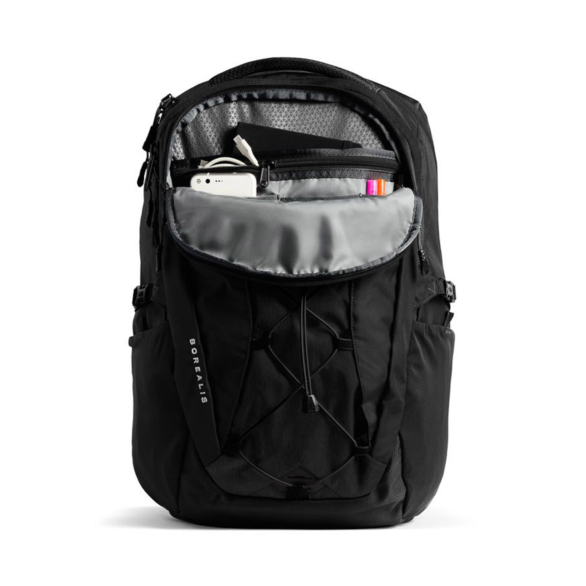 The North Face Women's Borealis Backpack Black Open