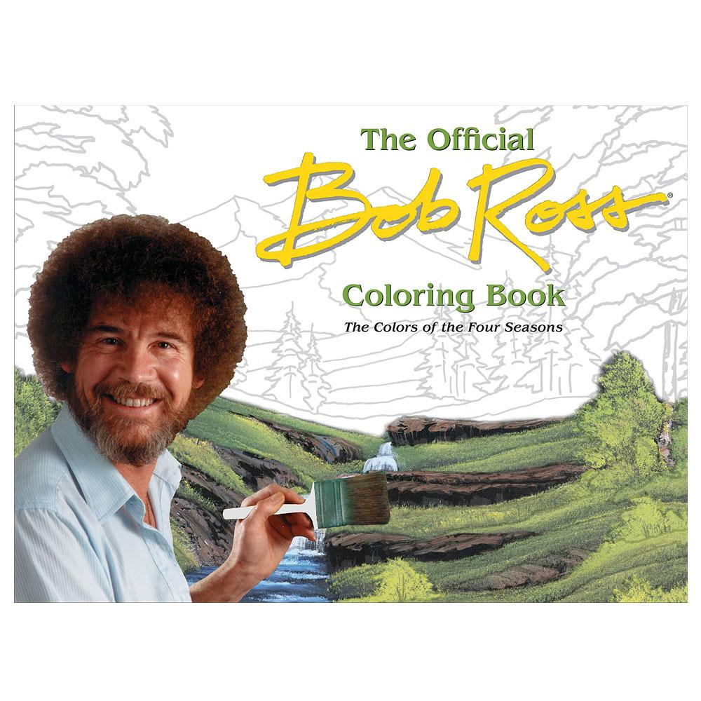 The Official Bob Ross Coloring Book by Bob Ross