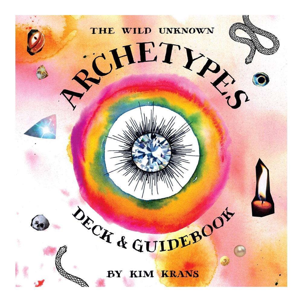 The Wild Unknown Archetypes Deck and Guidebook by Kim Krans