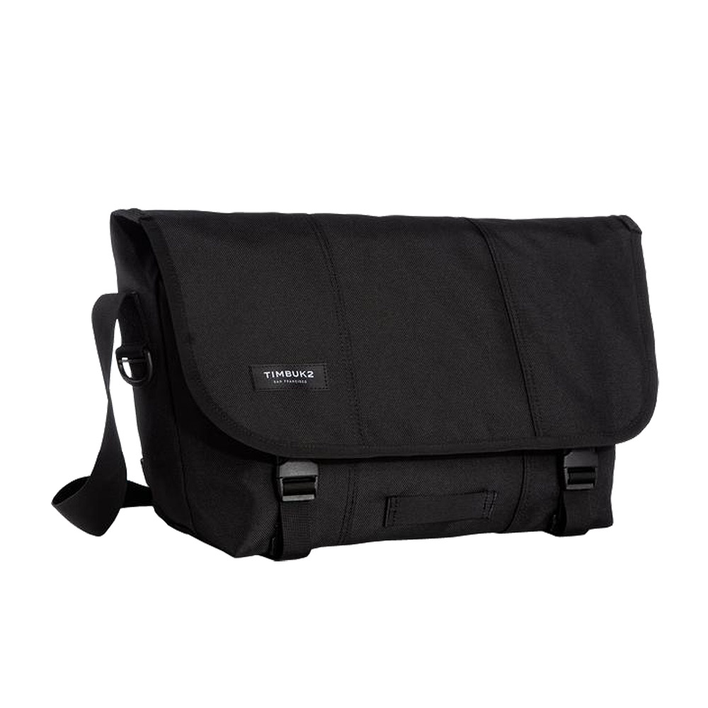 Timbuk2 Classic Messenger Bag Black Medium Front
