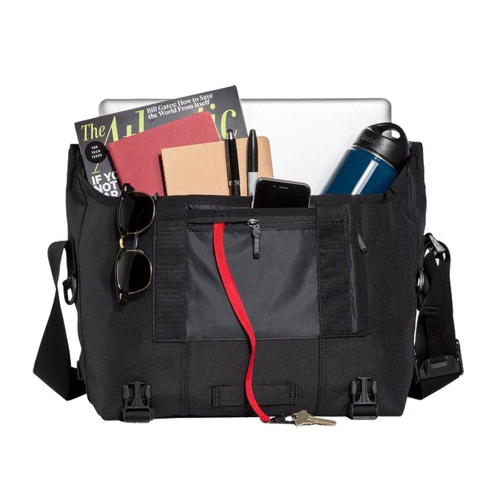 Timbuk2 Classic Messenger Bag Black Medium Open