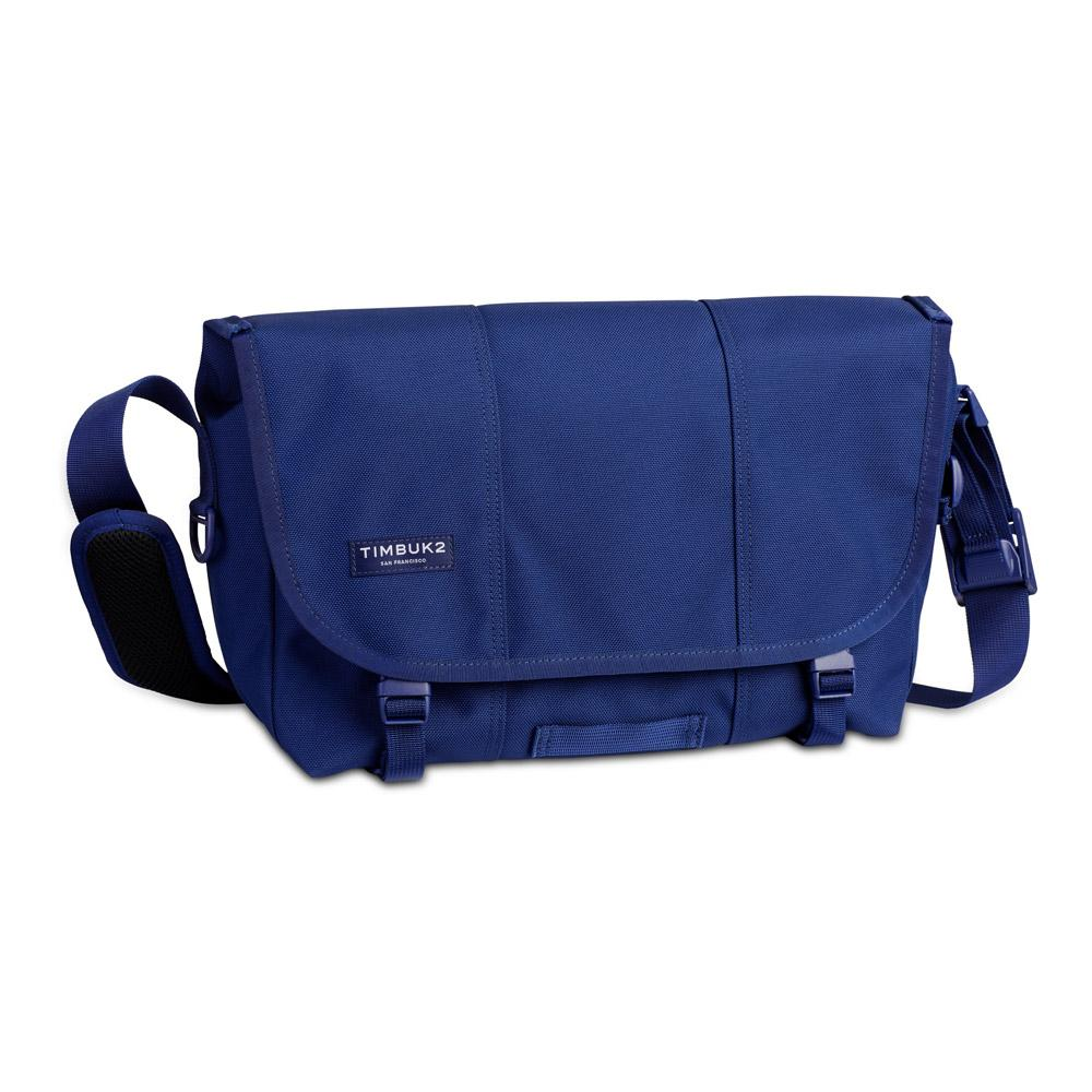 Timbuk2 Classic Messenger Bag Blue Wish Small Front