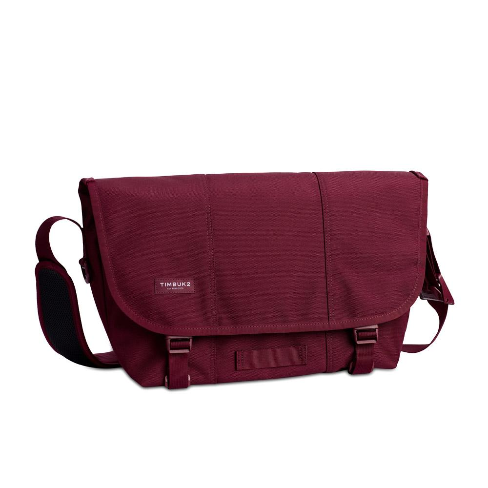 Timbuk2 Classic Messenger Bag Collegiate Red Small Front