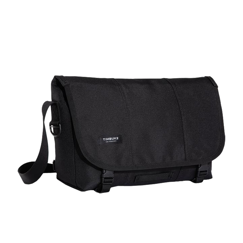 Timbuk2 Messenger Bag Jet Black Small Front