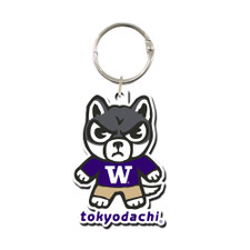 Tokyodachi Husky Keychain