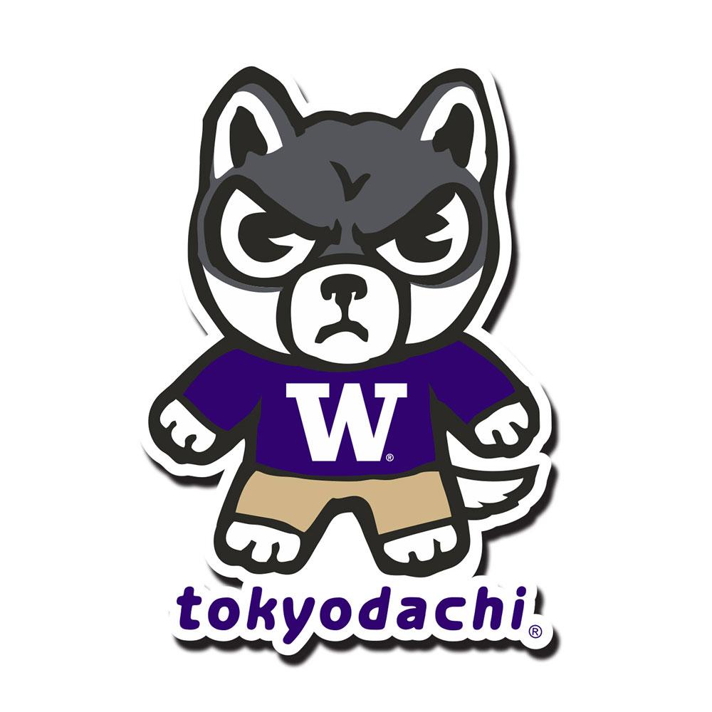 Washington Huskies Tokyodachi Magnet