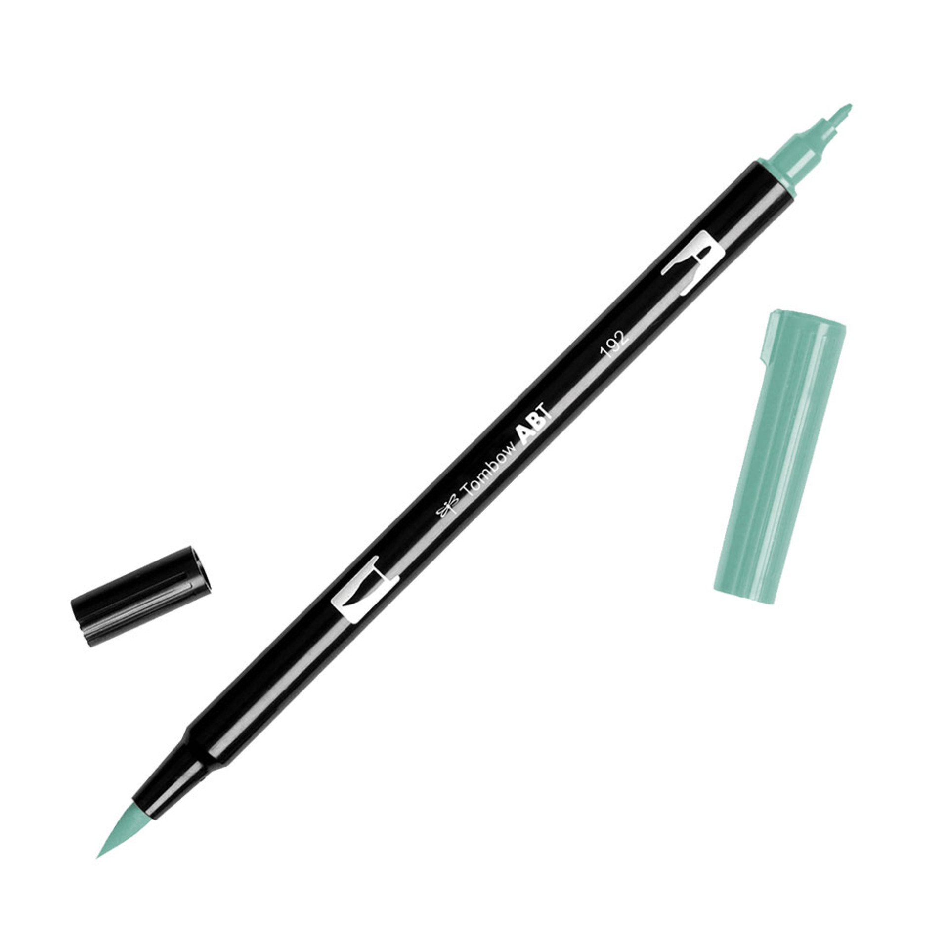 Tombow Dual-Tip Brush Marker Pen – Asparagus