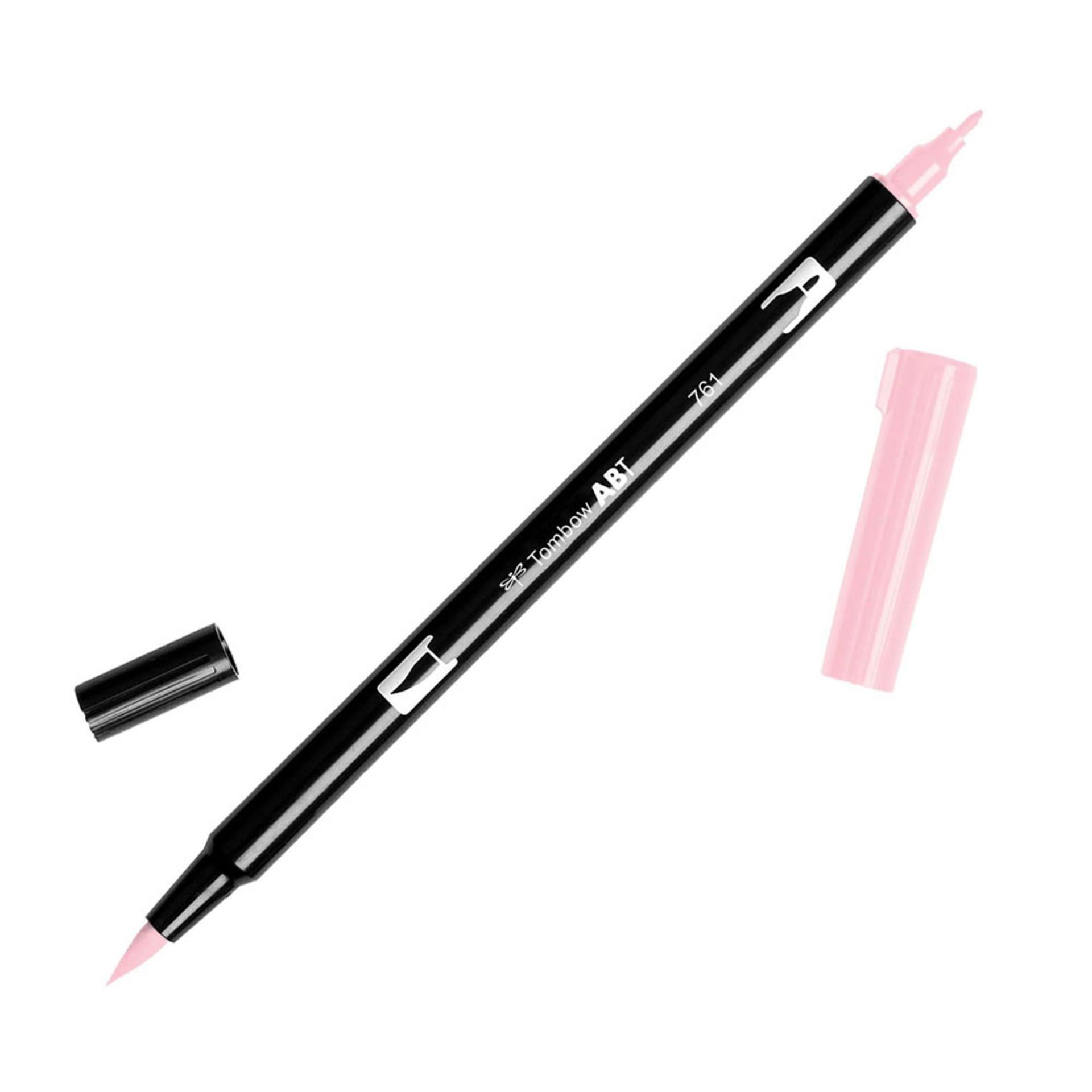 Tombow Dual-Tip Brush Marker Pen – Carnation
