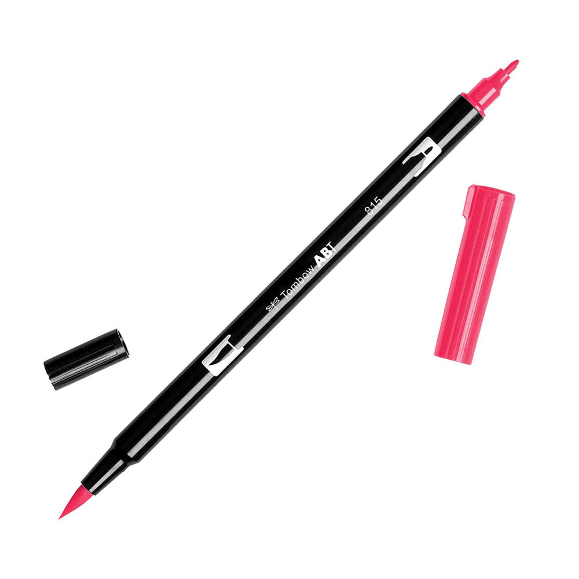 Tombow Dual-Tip Brush Marker Pen – Cherry