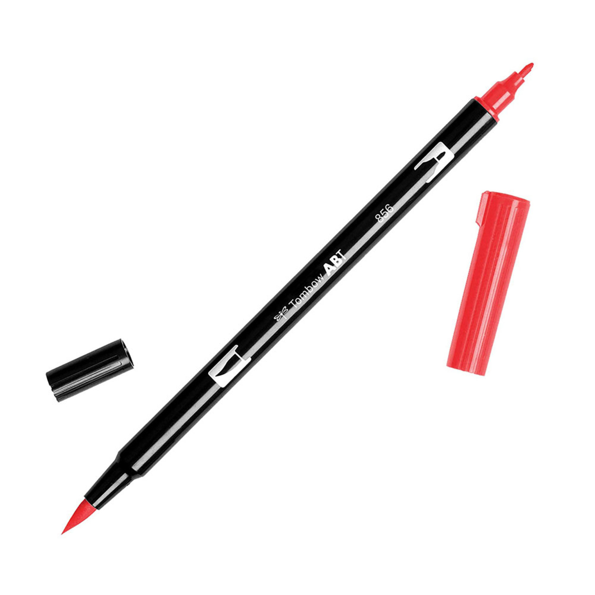 Tombow Dual-Tip Brush Marker Pen – Chinese Red