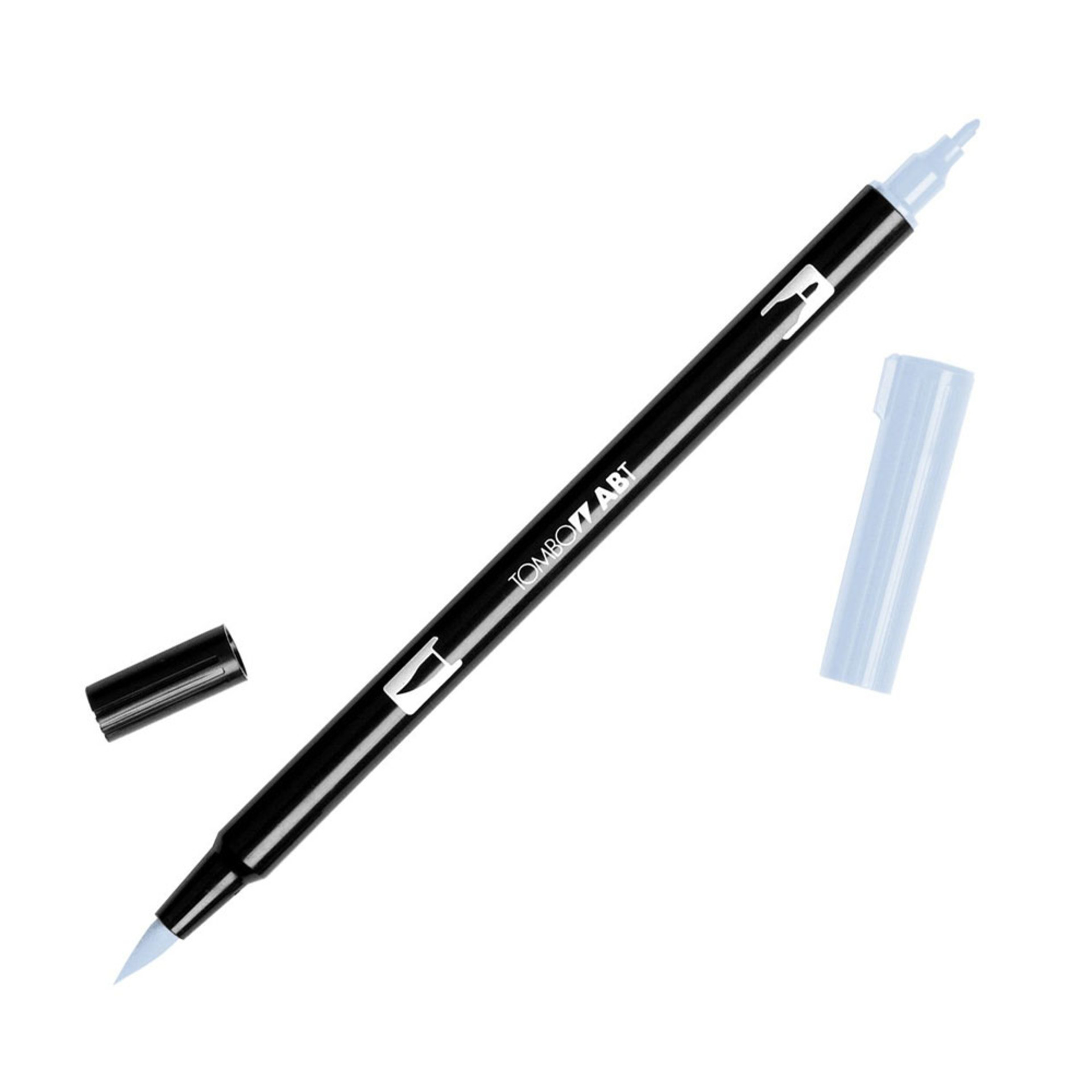 Tombow Dual-Tip Brush Marker Pen – Cool Gray 1