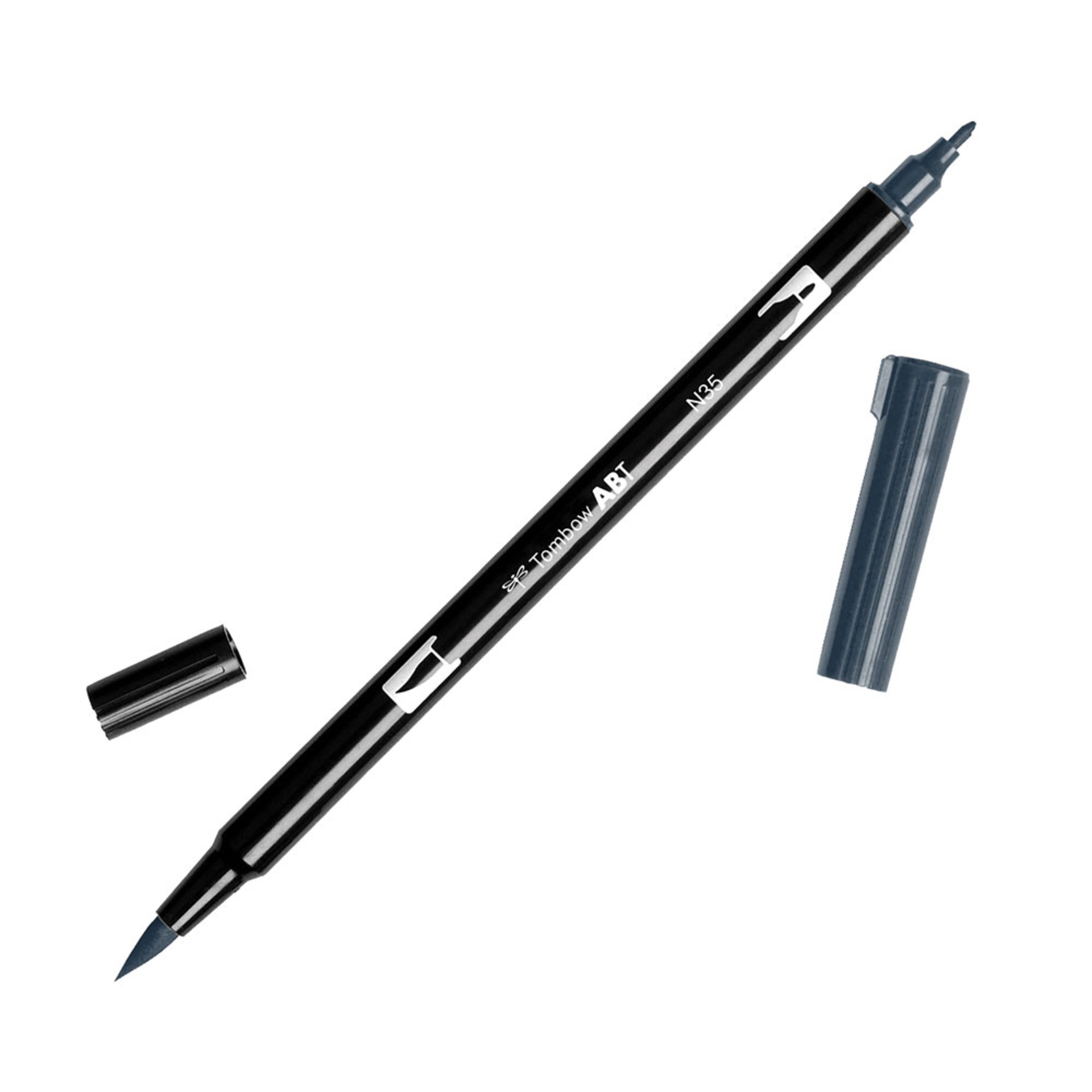 Tombow Dual-Tip Brush Marker Pen – Cool Gray 12