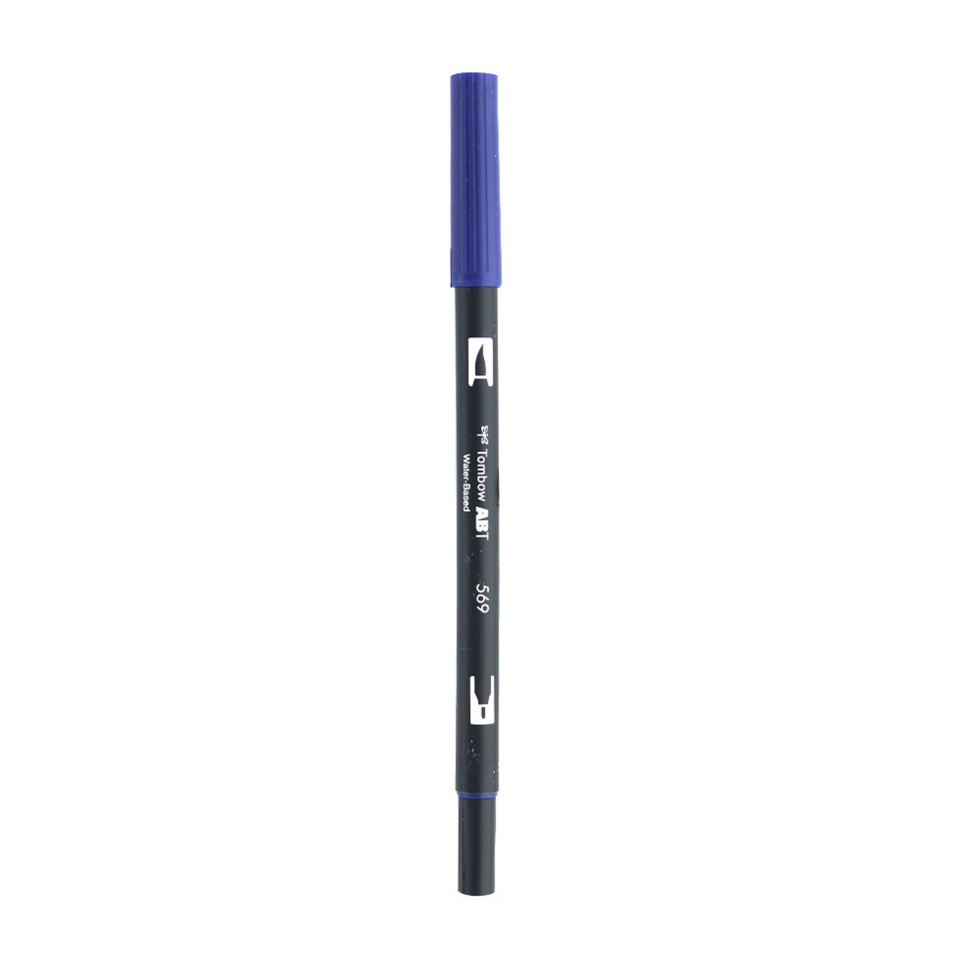 Tombow Dual-Tip Brush Marker Pen – Jet