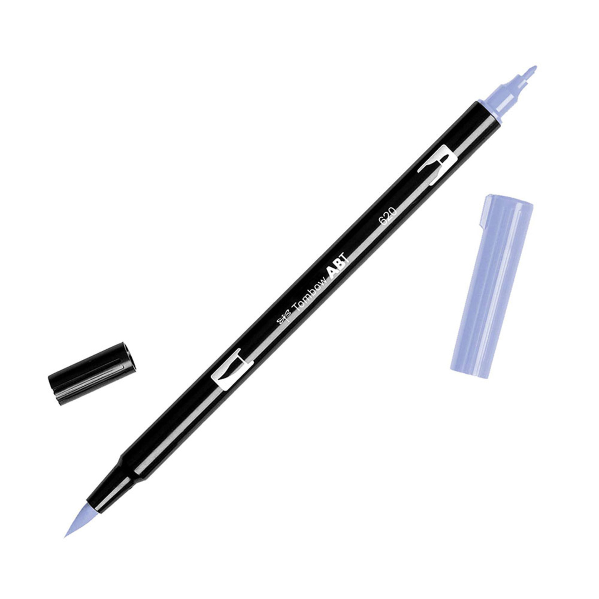 Tombow Dual-Tip Brush Marker Pen – Lilac